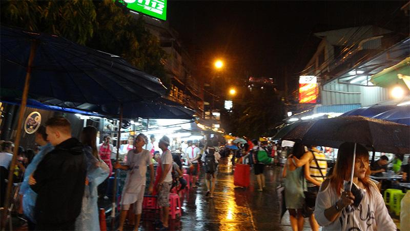 新千歳空港→バンコクのカオサン通りへ!tailand_trip_day1_09