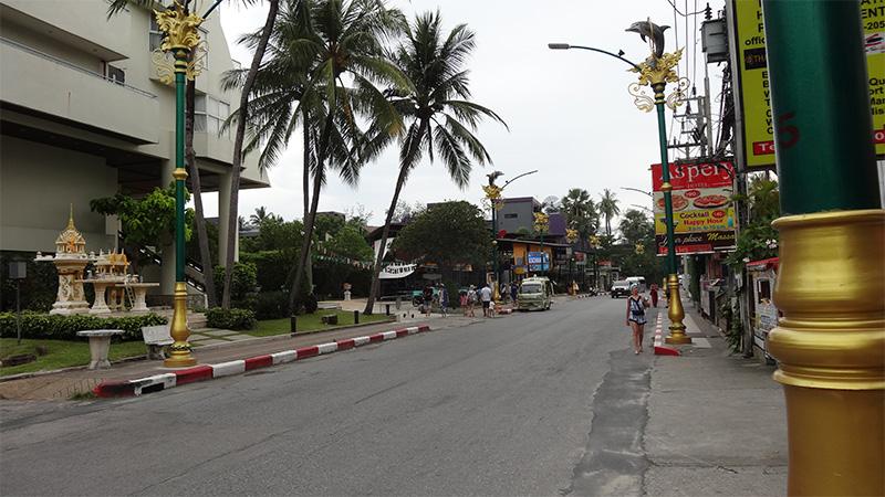 ディーバナ パトン リゾート & スパから パトンビーチへの徒歩での行き方【写真解説付き!】